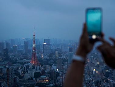 Kota Tokyo dari Ketinggian