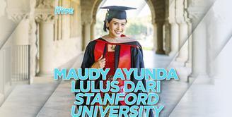 Maudy Ayunda Lulus S2 dari Stanford University