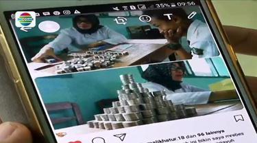 Seorang pelajar di Kota Megelang menjadi perbincangan lantaran membayar biaya sekolah dengan uang receh pecahan Rp1.000.