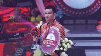 Faul juara LIDA 2019 dalam Konser Kemenangan LIDA 2019 di Indosiar, Sabtu (4/5/2019) dini hari (dok Indosiar)