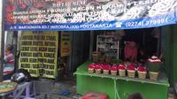 Kios bunga di Yogyakarta ini memiliki nama unik yakni Warung Makanan Roh Halus