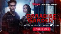 Jefri Nichol dan Vanesha Prescilla dalam Vidio original series Paradise Garden. (Dok. Vidio)