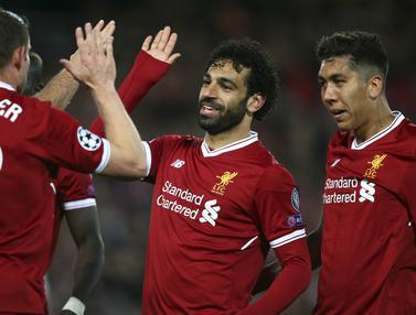 Mohamed Salah, Liga Champions, Liverpool