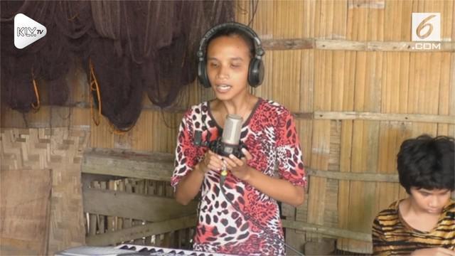 Seorang gadis tunantera asal Filipina meniru cara bernyanyi Beyonce dengan baik. Padahal Balawing tidak bisa berbahasa inggris.