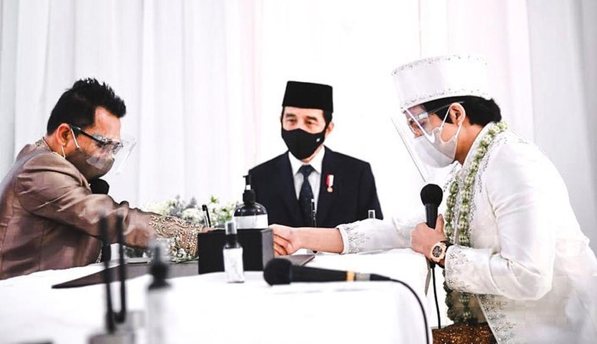 Jokowi Pernikahan Atta Halilintar dan Aurel Hermansyah (Instagram/attahalilintar)