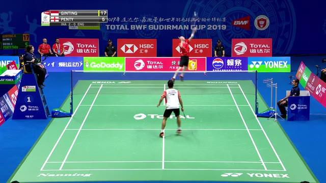 Berita video highlights laga tunggal putra antara Anthony Ginting melawan Toby Penty saat tim Indonesia mengalahkan Inggris 4-1 di Piala Sudirman, Minggu (19/5/2019).