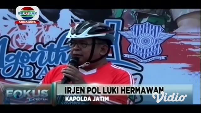 Sekitar 6.000 sepeda ontel akan melintasi jalur sisi timur Jembatan Suramadu atau dari Madura (Bangkalan) menuju Surabaya pada Minggu (22/9).