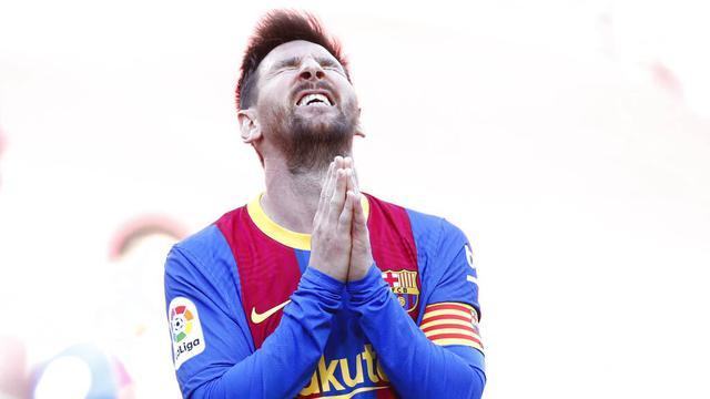 FOTO: Ekspresi Lionel Messi CS Usai Gagal Membawa Barcelona Mengkudeta Atletico Madrid dari Puncak Klasemen Liga Spanyol