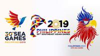 Logo SEA Games 2019 di Filipina. (Bola.com/Dok. VFF)