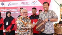 Dirjen Pembinaan Pelatihan dan Produktivitas (Binalattas) Kemnaker, Bambang Satrio Lelono di BLK Bantaeng