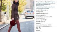 Legging menjadi salah satu produk fashion yang wajib Anda miliki. Ini cara mengenakannya agar terlihat keren. (www.instagram.com/@thestylestalker)