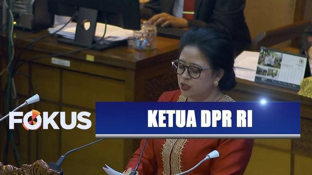 Puan Maharani resmi dipilih jadi ketua DPR RI periode 2019-2024. Puan dilantik bersama keempat wakil ketua DPR RI.