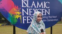 Anisa Rahma menghadiri Hijab Celebration day 2019 (dok. prbadi/ Adinda Kurnia)