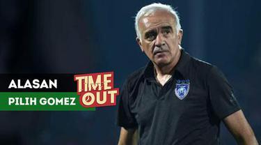 Umuh Muchtar mengungkapkan alasan dibalik penunjukan Mario Gomez sebagai pelatih Persib Bandung untuk kompetisi Liga 1 2018.