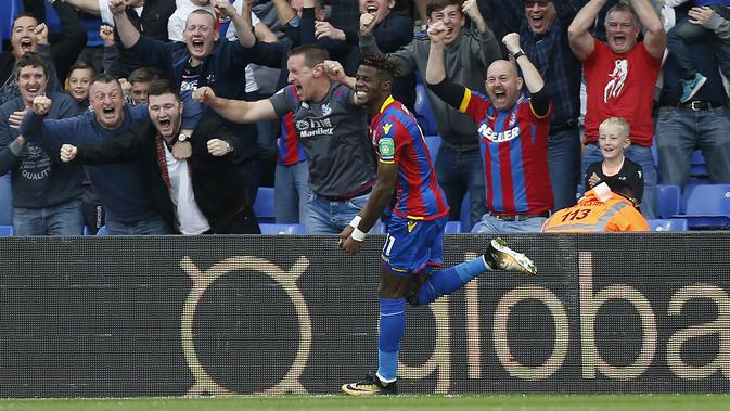 Wilfried Zaha. (AFP/Ian Kington)