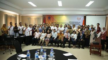 Kembangkan Pelatihan Teknisi Energi Surya Kemnaker Gandeng Tatung University