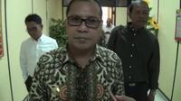 Wali Kota Makassar, Moh. Romdhan Pomanto hadiri panggilan Polisi (Liputan6.com/ Eka Hakim)