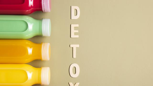 Ilustrasi detoks racun dalam tubuh