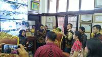 Anggota DPRD DKI Jakarta kunjungan kerja ke Surabaya, Jawa Timur untuk menimba ilmu dari penataan kota, manajemen banjir hingga kerukunan umat beragama. (Foto: Liputan6.com/Dian Kurniawan)