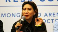 Manajer Tim Junior Indonesia Susy Susanti. (Humas PP PBSI)