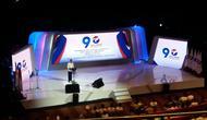 Jokowi memberikan pembekalan 500 lebih bakal calon anggota legislatif (caleg) Partai Perindo, (Liputan6.com/Hanz Salim)