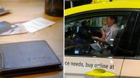 Penumpang Lupa Bawa Dompet, yang Dilakukan Sopir Taksi Ini Bikin Terharu (Sumber World of Buzz)