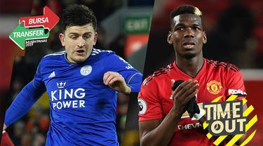 Berita Video Berita Video Timeout Manchester United dan Manchester City Rebutan Maguire dan Pogba Siap Hengkang