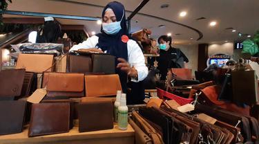 Pameran produk UMKM asal Banten di MaxxBox Lippo Village, Kelapa Dua, Kabupaten Tangerang.