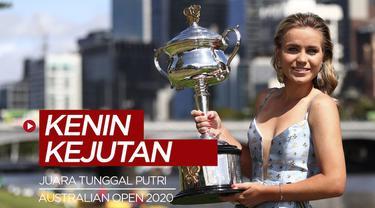 Berita video mengenai Sofia Kenin, petenis belia berusia 21 tahun yang mengejutkan dunia dengan menjuarai Australian Open 2020