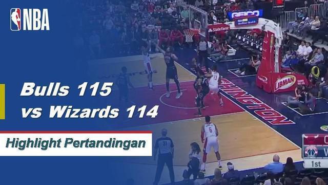 Walt Lemon Jr. menjaga Bulls menerobos peregangan sebagai Wizards 115-114. Lemon Jr. selesai dengan 24 poin dan 8 assist dalam 29 menit bagi Chicago dalam kemenangan.