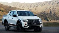 Mitsubishi Triton Athlete diuji di kawasan wisata Taman Nasional Bromo Tengger Semeru. (Dok Mitsubishi)