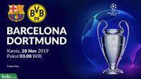 Liga Champions - Barcelona Vs Borussia Dortmund (Bola.com/Adreanus Titus)