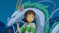 Film anime besutan Studio Ghibli, Spirited Away.