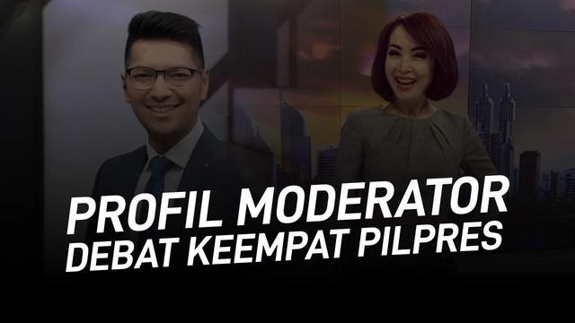 Retno Pinasti dan Zulfikar Naghi ditetapkan menjadi moderator debat ke-empat Pilpres 2019. Berikut profil keduanya.