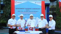 BUMN operator pelabuhan di Indonesia, Pelindo III, menjalin kerja sama pendidikan dan pelatihan pegawai operasional dengan Pelabuhan Johor di Malaysia.