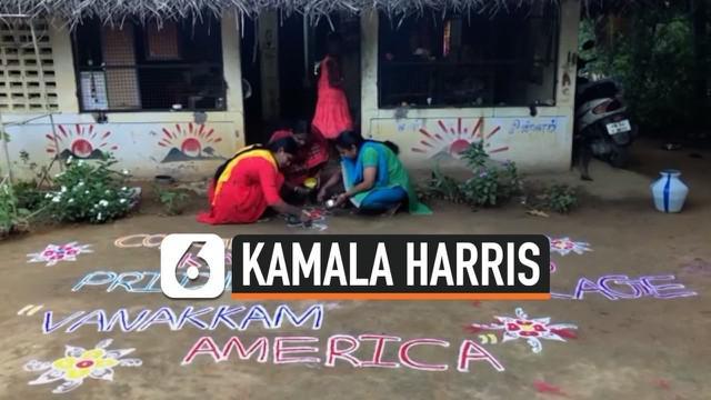 Sebuah desa kecil di India turut bergembira menyambut terpilihnya Kamala Harris sebagai wakil presiden terpilih Amerika Serikat. Desa tersebut adalah tempat kelahiran kakek Kamala.