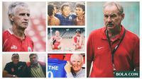 Pelatih Timnas Indonesia (Bola.com/Adreanus Titus)