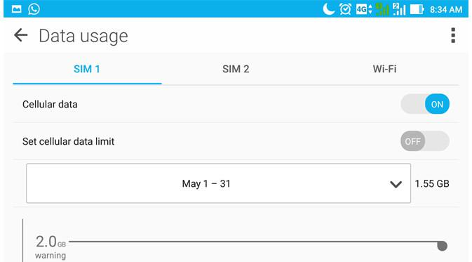 ara Membatasi Penggunaan Paket Data di Android