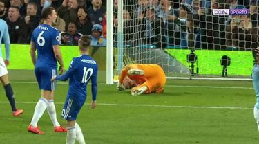 Berita video highlights Premier League 2018-2019 antara Manchester City melawan Leicester City yang berakhir dengan skor 1-0 di Etihad Stadium, Senin (6/5/2019).