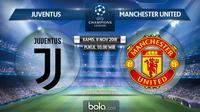 Liga Champions 2018 Juventus Vs Manchester United (Bola.com/Adreanus Titus)