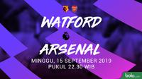 Premier League - Watford Vs Arsenal (Bola.com/Adreanus Titus)