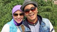 Indra Bekti saat berlibur bersama istrinya, Aldilla Jelita ke Istanbul, Turki, baru-baru ini [Foto: Instagram]