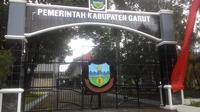 Kompleks kawasan perkantoran sekretariat daerah (Setda) pemerintahan kabupaten Garut (Liputan6.com/Jayadi Supriadin)