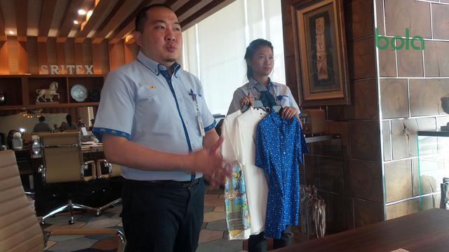 Sritex Memproduksi 30 Ribu Merchandise Asian Games - Asian
