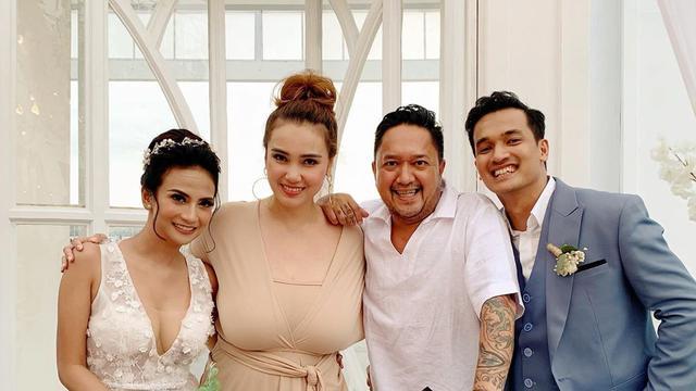 7 Momen Resepsi Pernikahan Vanessa Angel Di Bali Meriah Dihadiri