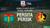 Liga 2 - Persita Tangerang Vs Persik Kediri (Bola.com/Adreanus Titus)