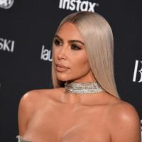 """""""Hal itu tak pernah terjadi. Cerita selesai,"""" tulis Kim Kardashian. (Angela Weiss - AFP)"""