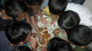 Megibungan, Tradisi Makan Bersama Muslim Bali