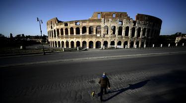 FOTO: Italia Catat 132.547 Kasus COVID-19, 16.523 Meninggal