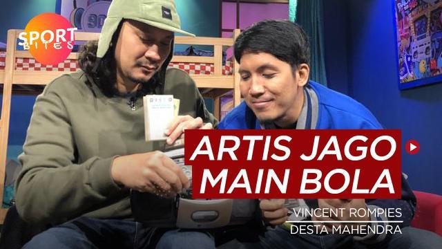 Berita video sportbites tentang lima selebritis Indonesia yang ternyata jago bermain sepak bola.